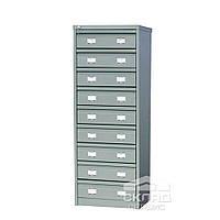 Картотечный шкаф для документов формата А6 (AFC 09) 1327(h)х470х631 мм