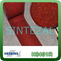 Антискользящая лента Heskins стандартной зернистости. 25 мм., Красная