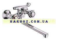 Смеситель для ванны Haiba (Хайба) Mega 140 Евро