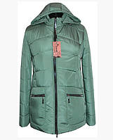 Женская куртка весенняя больших размеров  ( р. 50-62 )