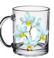 "Кружка чайная ""Белая Орхидея"" 300мл"