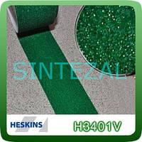 Антискользящая лента Heskins стандартной зернистости. 25 мм., Зеленая