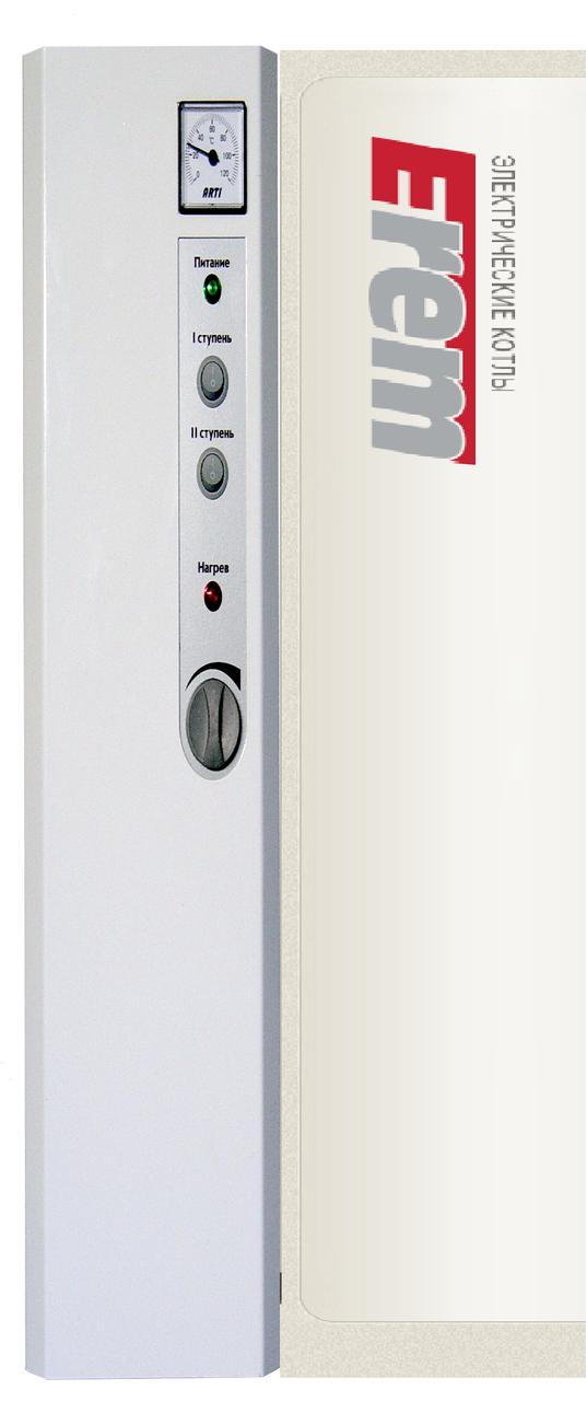 Одноконтурный электрический котел Erem EK 220V/380V 6 кВт