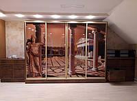 Шкаф купе в интерьере - Архитектура шкаф купе фотопечать