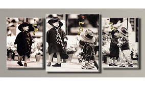 "Модульная картина на холсте "" Дети от Kim Anderson 2 """