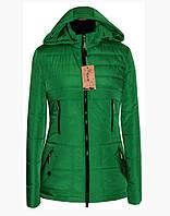 Демисезонная куртка-парка больших размеров  ( р. 42-56 )