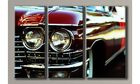 """Модульная картина на холсте """"Cadillac Eldorado"""""""