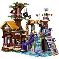 """Конструктор Bela Friends 10497 (аналог LEGO Friends 41122) """"Спортивный лагерь: дом на дереве"""", 739 деталей"""