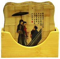 Подставка бамбук (китаянка)