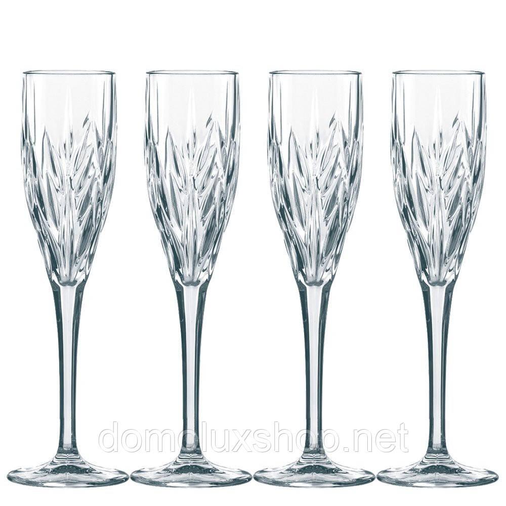 Nachtmann Imperial Набор бокалов для шампанского 4*140 мл (020068)