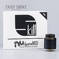 Дрип-атомайзер VapersMD and Twisted Messes Skill RDA