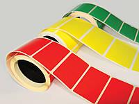 Печать цветной наклейки