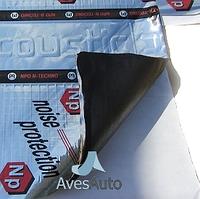 Виброизоляция Виброфильтр Акустик - 4 мм ( 0,7м х 0,5м)