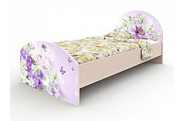 Кровать детская односпальная Природа Вальтер 90×190 стандартная