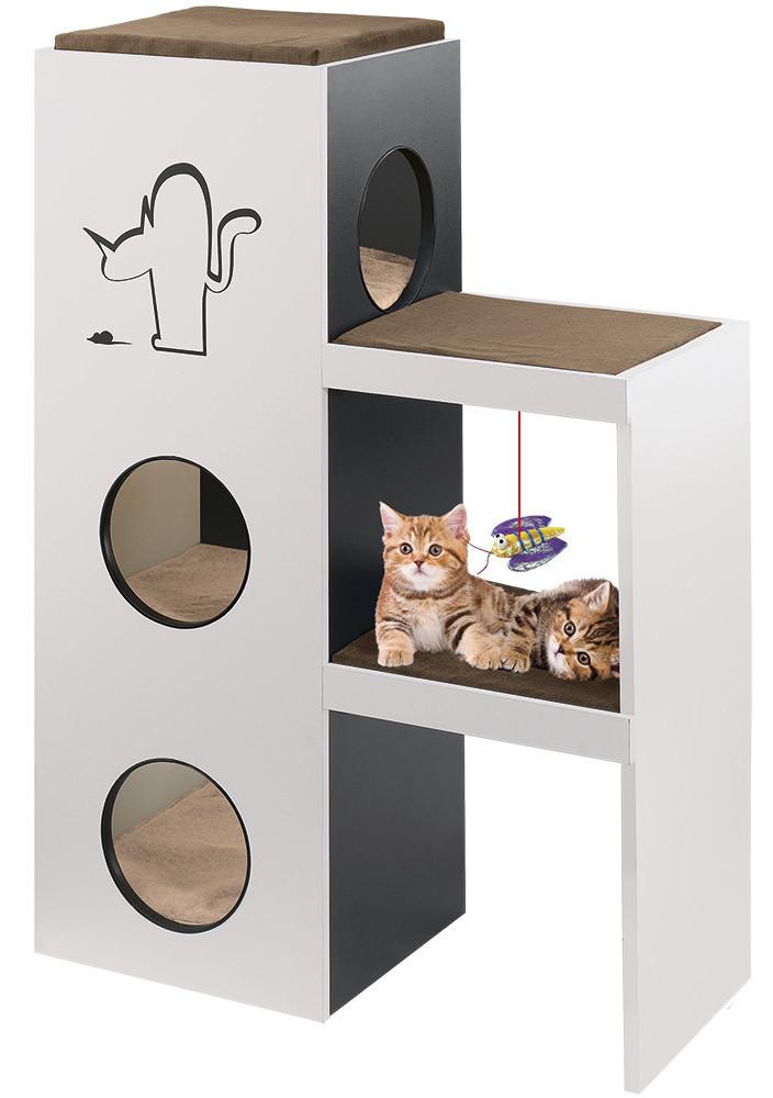 Ferplast NAPOLEON Игровой комплекс с когтеточкой для кошек