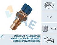 Датчик температуры двигателя PSA 93-> M14x1,25 115C (2ф. синий)  FAE