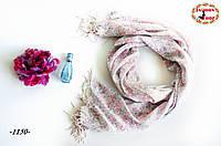 Лёгкий шарф Незабудка