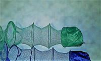 Садок рыболовный 5 колец с металлическим штырем