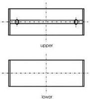 Вкладыши коренные STD Trafic/Vivaro 2.0dCi  GLYCO