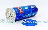 Мяч для большого тенниса Teloon T616P3: 3 мяча в вакуумной упаковке