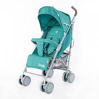 Коляска прогулочная BABYCARE Pride BC-1412 GREEN, детская коляска-трость