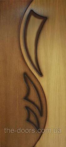Двери межкомнатные Лилия 2 глухие шпон натуральный