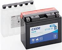 Аккумулятор мото EXIDE B/O 12V 10AH 160A YT12B-BS/ET12B-BS [151X70X130]