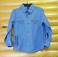 Рубашка на мальчика (рост 92) Турция
