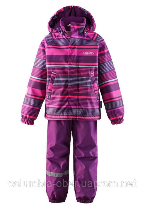 Демисезонный костюм для девочек Lassietec 723691-4892. Размер 116.