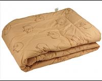 Одеяло шерстяное демисезонное в микрофайбере Руно 172х205см