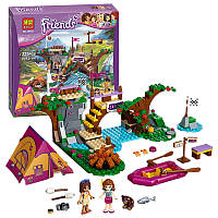 "Конструктор Bela Friends 10493  (аналог LEGO Friends 41121) ""Спортивный лагерь: сплав по реке"", 325 деталей"