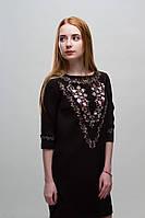 Платье с вышивкой Флора