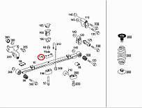 Подошва рессоры зад. Sprinter/Crafter 06- Mercedes