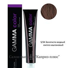 Фарба для волосся ERAYBA GAMMA 5/34