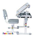 Комплект парта и стул-трансформеры Bambino Grey FunDesk, фото 5