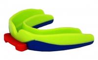 Капа боксерская Power Play  3312SR, салатово-синий/bright green dark blue, фото 1