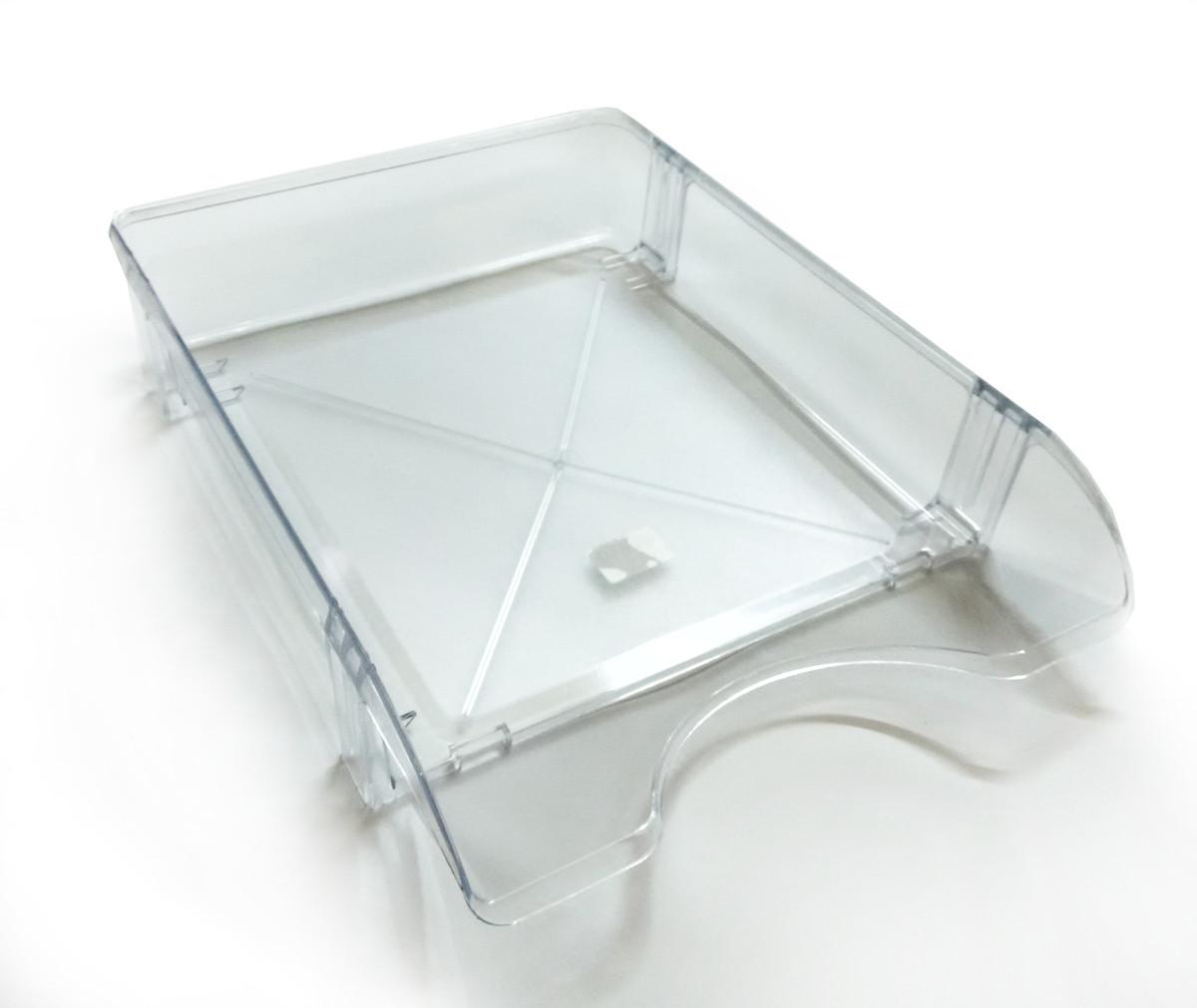 Лоток горизонтальный прозрачный ЛГ-06