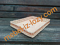 Лотки плетеные из лозы h5-40Х30