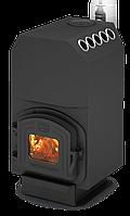 Отопительно варочная печь Теплодар ТОП 140 с чугунной дверкой
