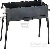 Мангал раскладной стальной с сумкой для переноски (мангал чемодан)