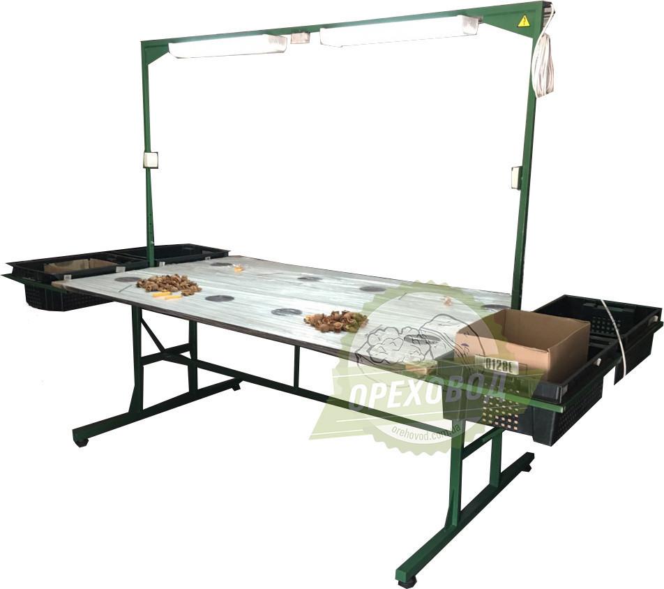 Стол для переборки грецкого ореха - Маркетплейс в Полтаве