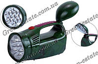 Фонарик YJ-2809, 13+9 LED