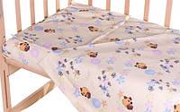 Комплект сменного постельного белья в кроватку Gold Qvatro 620529
