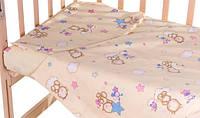 Комплект сменного постельного белья в кроватку Gold Qvatro 620531