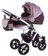 Детская коляска универсальная 2 в 1 Avila len 257W Adamex
