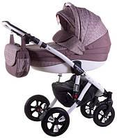 Детская коляска универсальная 2 в 1 Avila len 265W Adamex