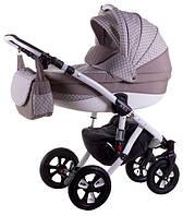 Детская коляска универсальная 2 в 1 Avila len 353W Adamex