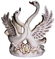 Статуэтка лебеди фарфор