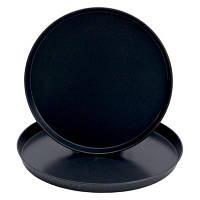 Поддон: диам. 500 мм, h=40 мм, обоженная сталь черного цвета BA - Pentolle Agnelli (Италия) 7440073