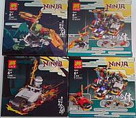 Конструктор Пластмассовый Ninja 61 дет.+ 31006 Китай